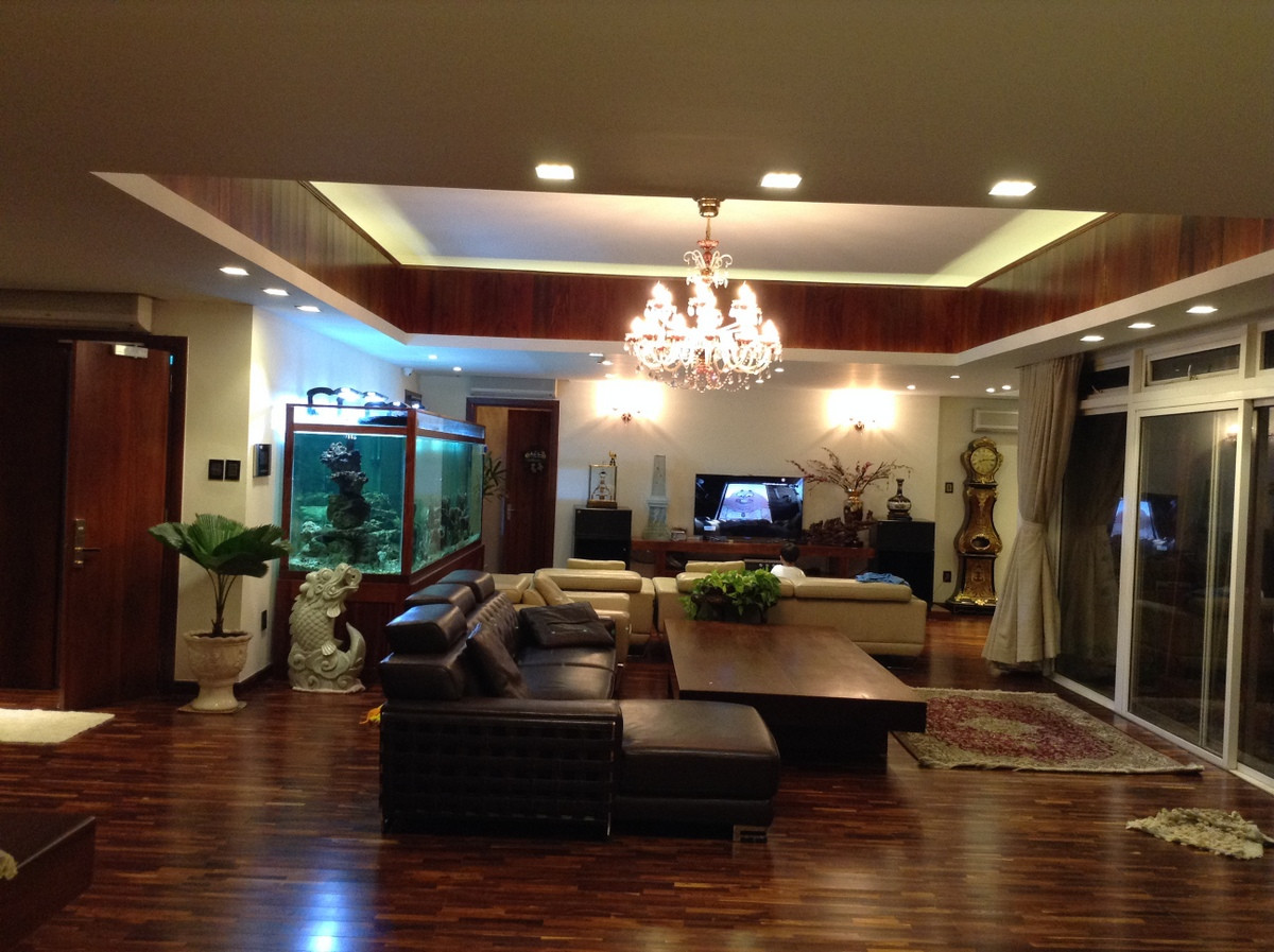 BEAUTIFUL PENTHOUSE SAIGON PEARL FOR SALE.
