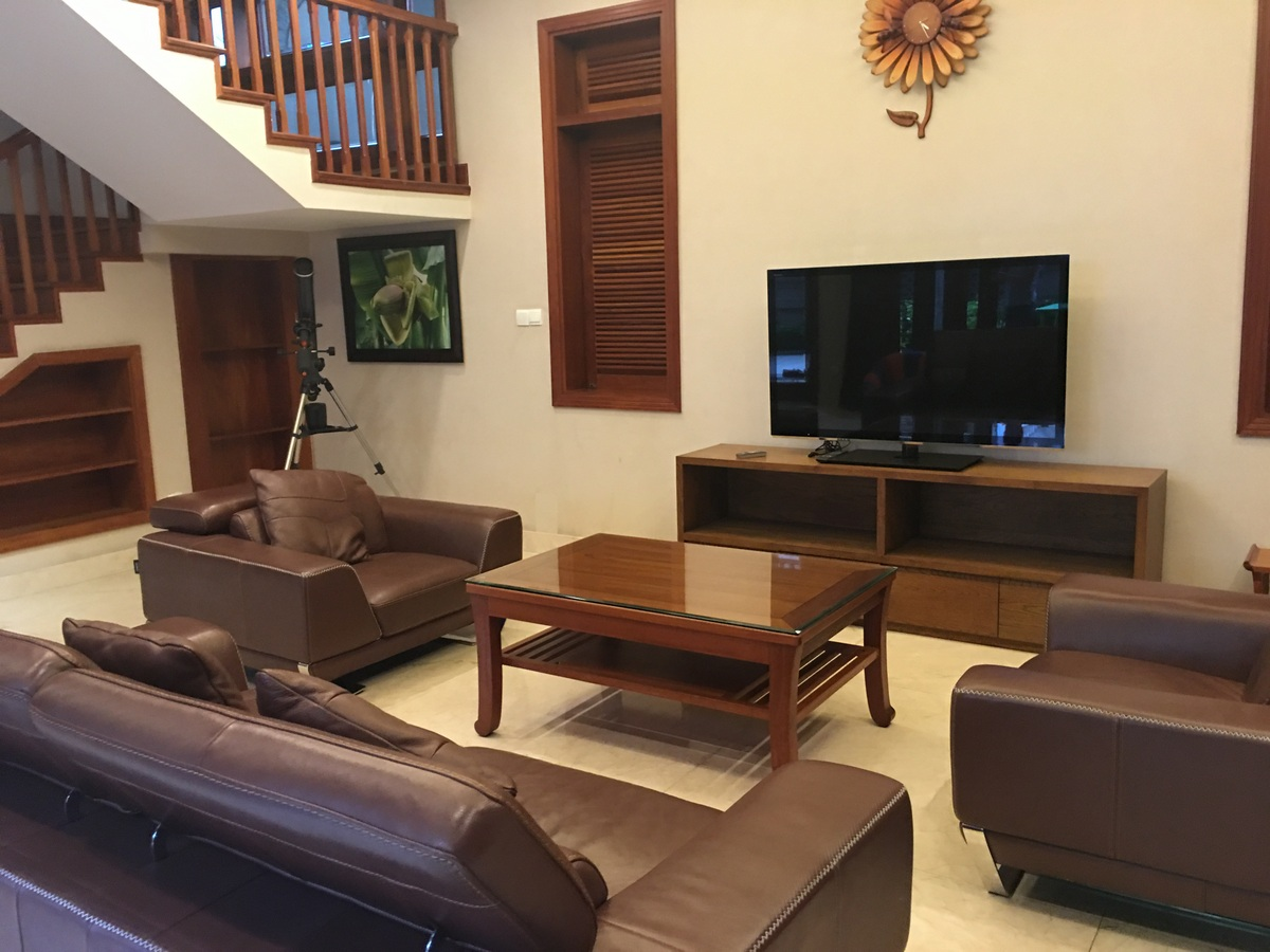 A NICE VILLA FOR RENT IN FIDECO COMPOUND, THAO DIEN WARD, DISTRICT 2.