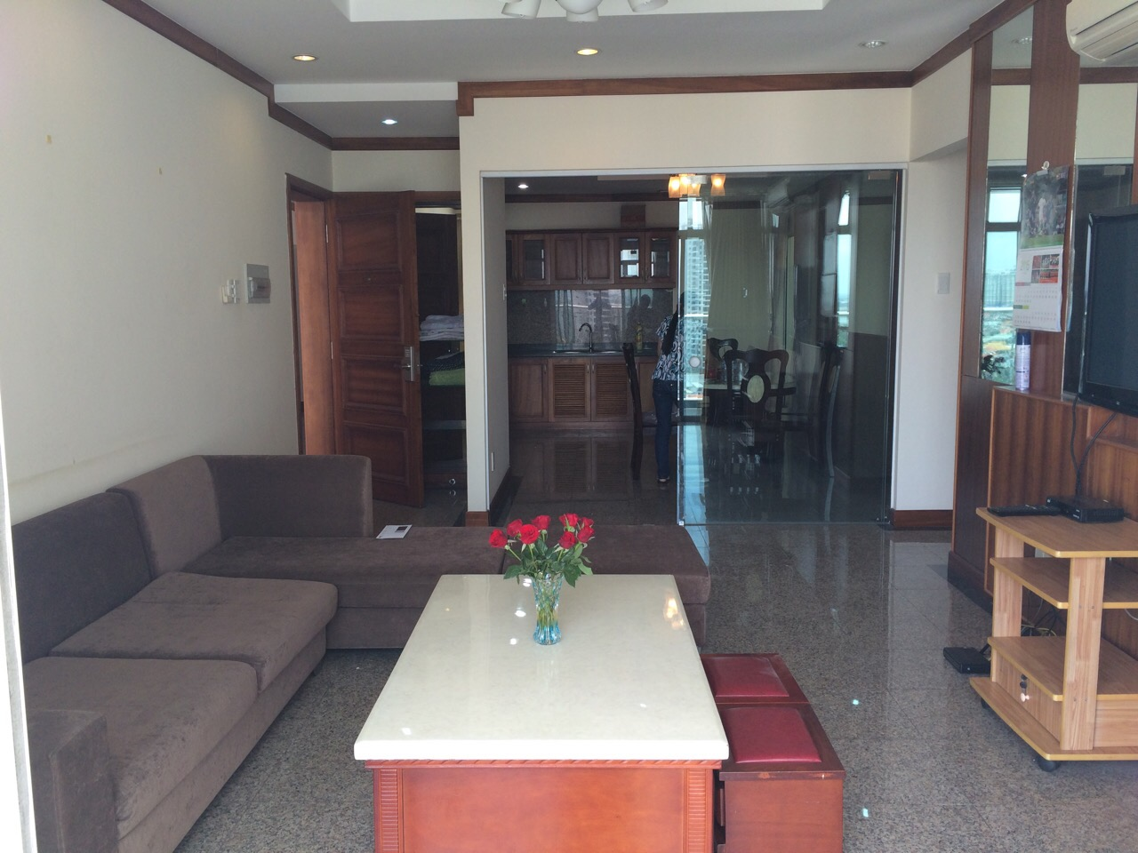 HOANG ANH RIVERVIEW APARTMENT FOR RENT AT THAO DIEN, DISTRICT 2.