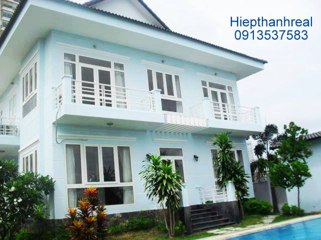 NICE RIVERVIEW VILLA FOR RENT AT THAO DIEN