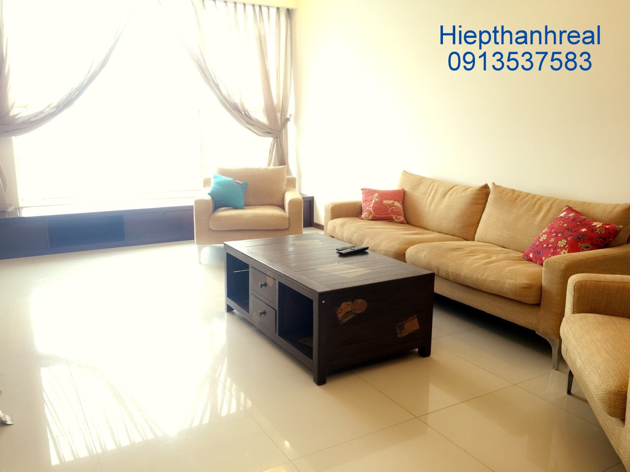 THAO DIEN PEARL APARTMENT 02 BEDROOMS FOR RENT