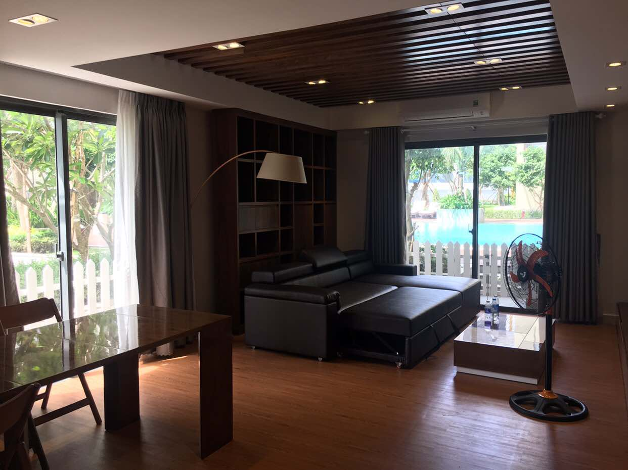 LUXURY DUPLEX Masteri Thao Dien apartment for rent 3 bedrooms!