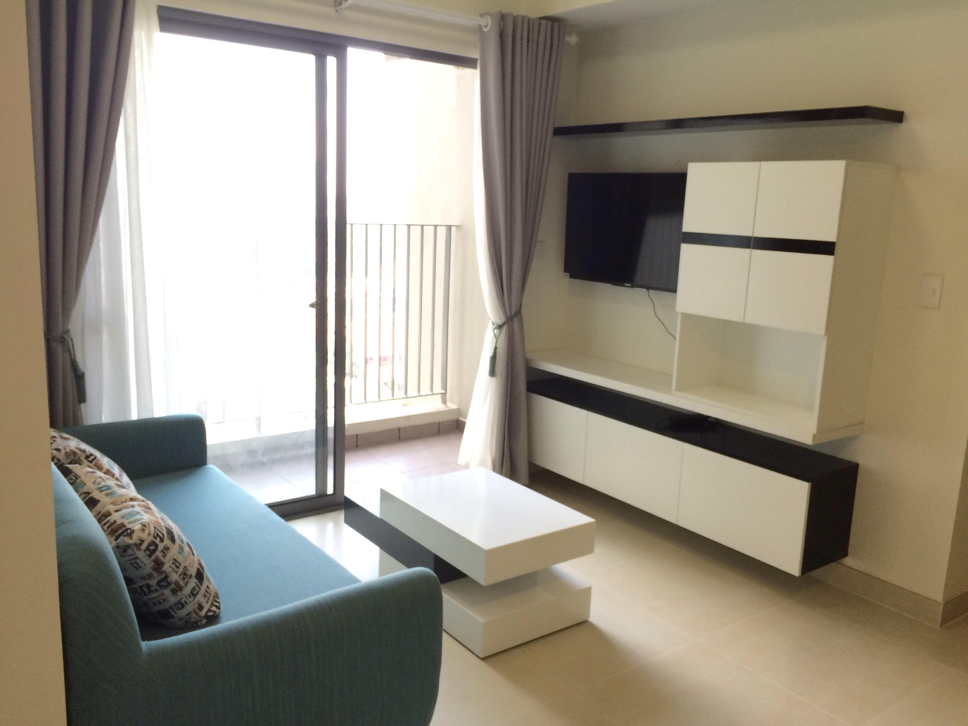 Riverview Masteri Thao Dien apartment for rent 2 bedrooms, fully furnished with $800!