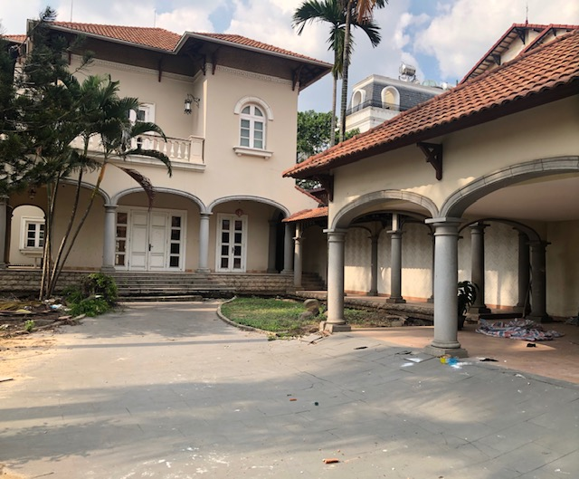 Villa for rent at Thao Dien